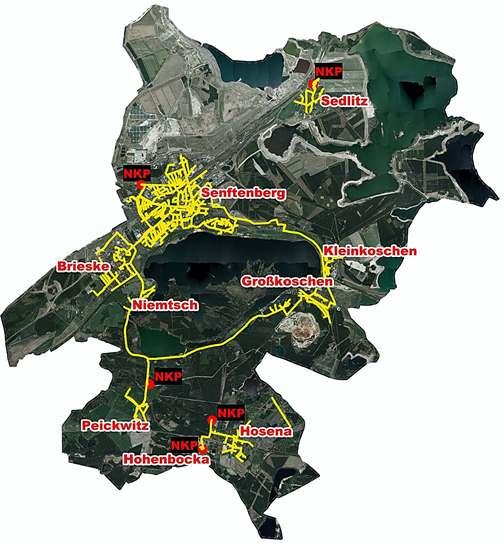 Netzgebiet Senftenberg