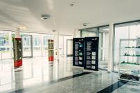 Blick in den Foyer der Stadtwerke Senftenberg